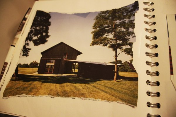 Building the Maxon House: Week 1 - Photo 5 of 10 - We started looking at different variations on modern architecture. Finding not only photos of houses we liked but houses in the setting helped to inform some of our ideas and visions for the project.