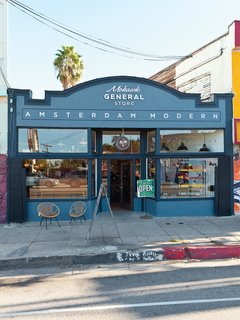 The Mowhawk General Store + Amsterdam Modern is located at 4011 West Sunset Boulevard in the Sunset Junction neighborhood of Los Angeles.