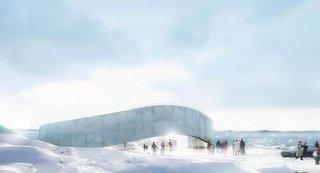 Bjarke Ingels' design for Greenland's National Gallery of Art. Photo via B.I.G.