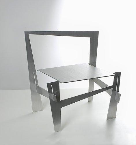 """Ronen Kadushin's """"Vague"""" chair."""