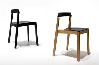 The Silenci Chair by o4i - Photo 5 of 5 - Silenci comes in black, or natural ash or birch.