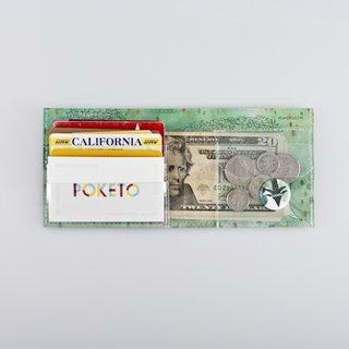 Poketo Artist Wallets - Photo 2 of 7 - The Poketo wallets are shipped flat then fold up to jean-pocket size.