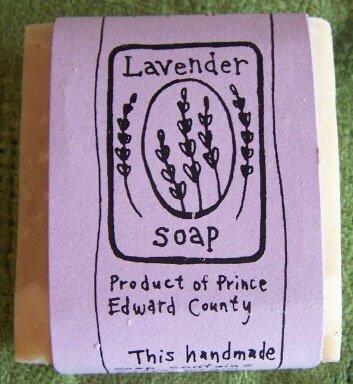 Honey Pie's Lavender Soap.