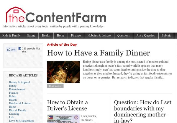 The Content Farm could be the future of writing and editing.