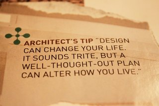 Our notebooks were littered with tearsheets and pull-quotes about design and architecture. This one resonated deeply. It wasn't just a search for a bigger home it was a quest for smarter, better design spaces.