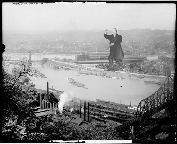 Andrew Carnegie ravaging Pittsburgh as seen on Alternate Histories.