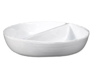 Divided Regular Bowl by Monica Porter for Montes Doggett.