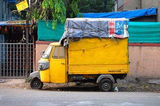 Touring India - Photo 6 of 27 - I am obsessed with color and India is the most colorful place in the world.  Even trash trucks and delivery vans are painted with neon hues and primary colors.