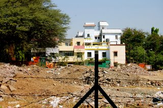 Touring India - Photo 10 of 27 - The concrete homes I walked past on my way to work each day were painted in pastels and reminded me of Miami or Palm Springs.
