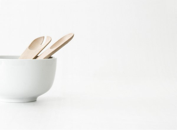 The Toss Around spoons—with their simple, wood designs—encompass classic Scandinavian aesthetics.