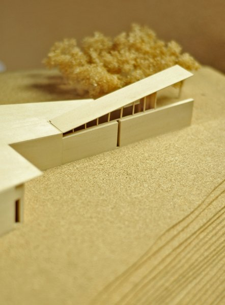 Architectural model of Kundig's Montecito residence. Photo by Thor Radford.