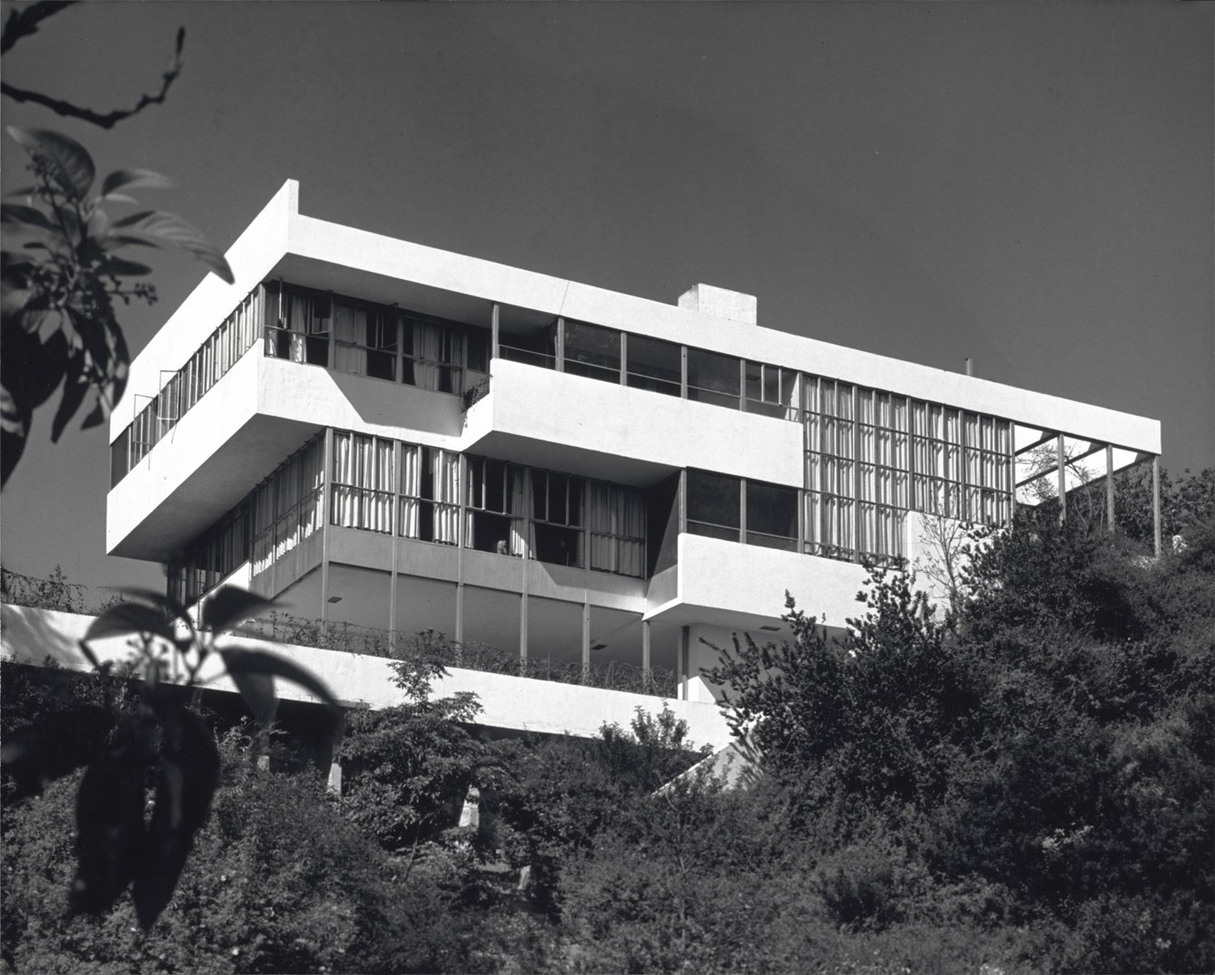 The owners of the 1929 Lovell Health house agreed to a rare tour of their home as part of the 85th anniversary celebration.  Photo by Julius Shulman, courtesy Getty Institute.  Don't miss a word of Dwell! Download our  FREE app from iTunes, friend us on Facebook, or follow us on Twitter!