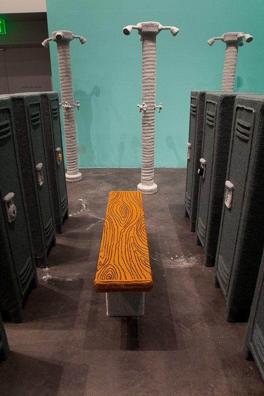 Nathan Vincent's Locker Room by Bradford Shellhammer