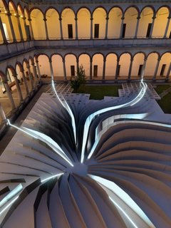 Zaha Hadid's Milan Installation - Photo 4 of 5 - An aerial view.