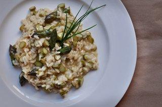 Bertazzoni Family Recipes - Photo 1 of 2 - A Bertazzoni family favorite: Risotto Agli Asparagi.