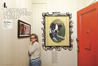 Friday Finds 5.13.11 - Photo 2 of 3 - Comedienne Amy Sedaris is her apartment, shot by Dean Kauffman.