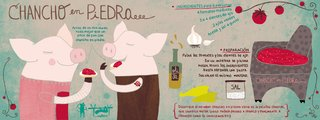 An illustration from They Draw & Cook: Recipes from Artists Around the World.