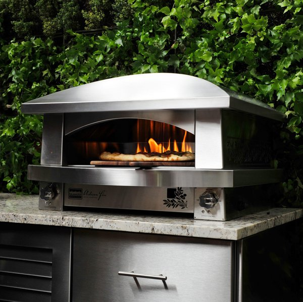 Kalamazoo Outdoor Gourmet's Artisan Fire Pizza Oven.