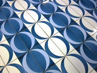 Gio Ponti's Parco dei Principi Hotel - Photo 20 of 29 - In this tessellation, crescent moons form circles.