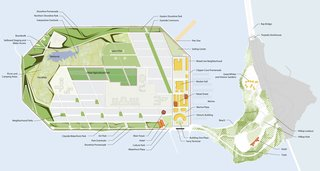 Among the hallmarks of the plan: a shifted grid of streets (to better buffer pedestrians from strong winds); a plethora of small neighborhood parks amid new housing; an area for urban agriculture; plenty of mixed-use buildings; and 250 acres of open space, parks, and a shoreline promenade. <br><br>Don't miss a word of Dwell! Download our  FREE app from iTunes, friend us on Facebook, or follow us on Twitter!