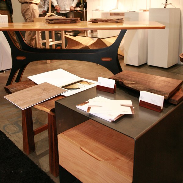 A few of the tables exhibited at last year's show.