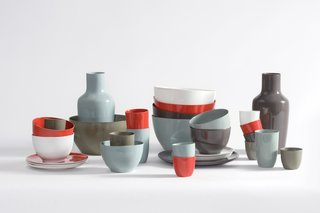 Dutch Designer Focus: Hella Jongerius - Photo 14 of 31 - 1997<br><br>B-Set porcelain tableware launches a long-running collaboration with Royal Tichelaar Makkum.
