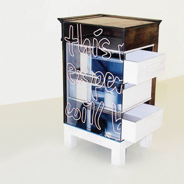 2005<br><br>Cupboard, an experimental one-off for Galerie Kreo.