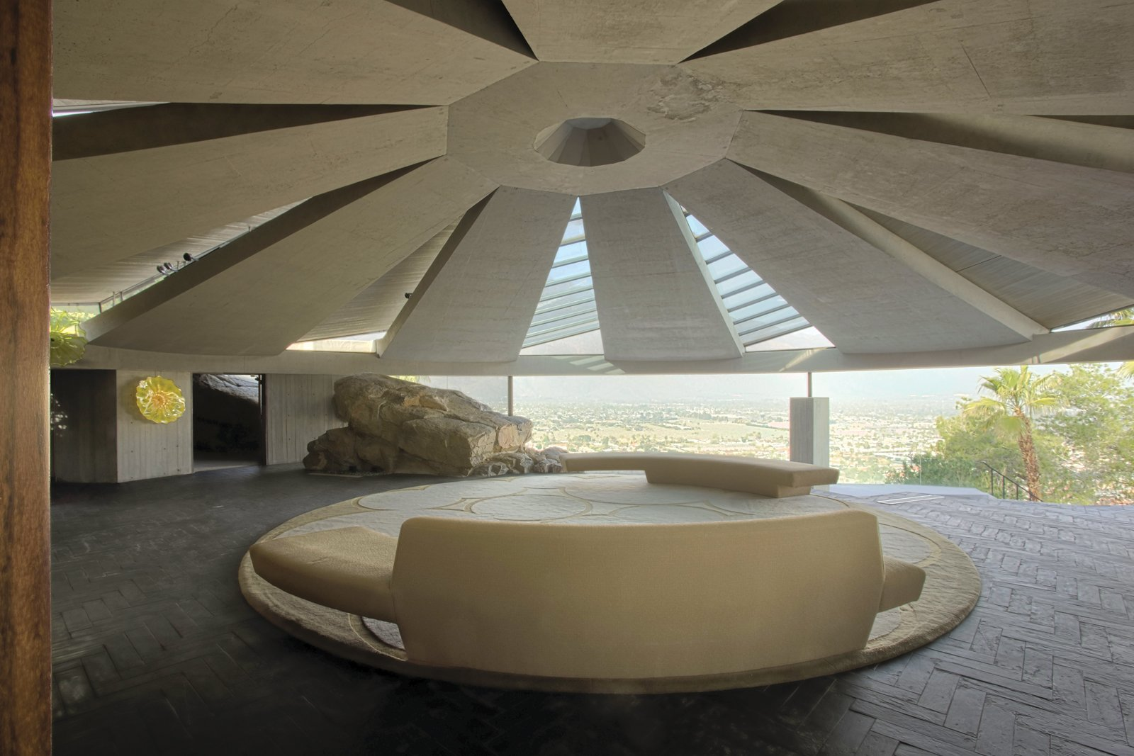 Tagged: Living Room.  Photo 1 of 5 in A House Worthy of James Bond and More from The Midcentury Architecture of California Modernist John Lautner
