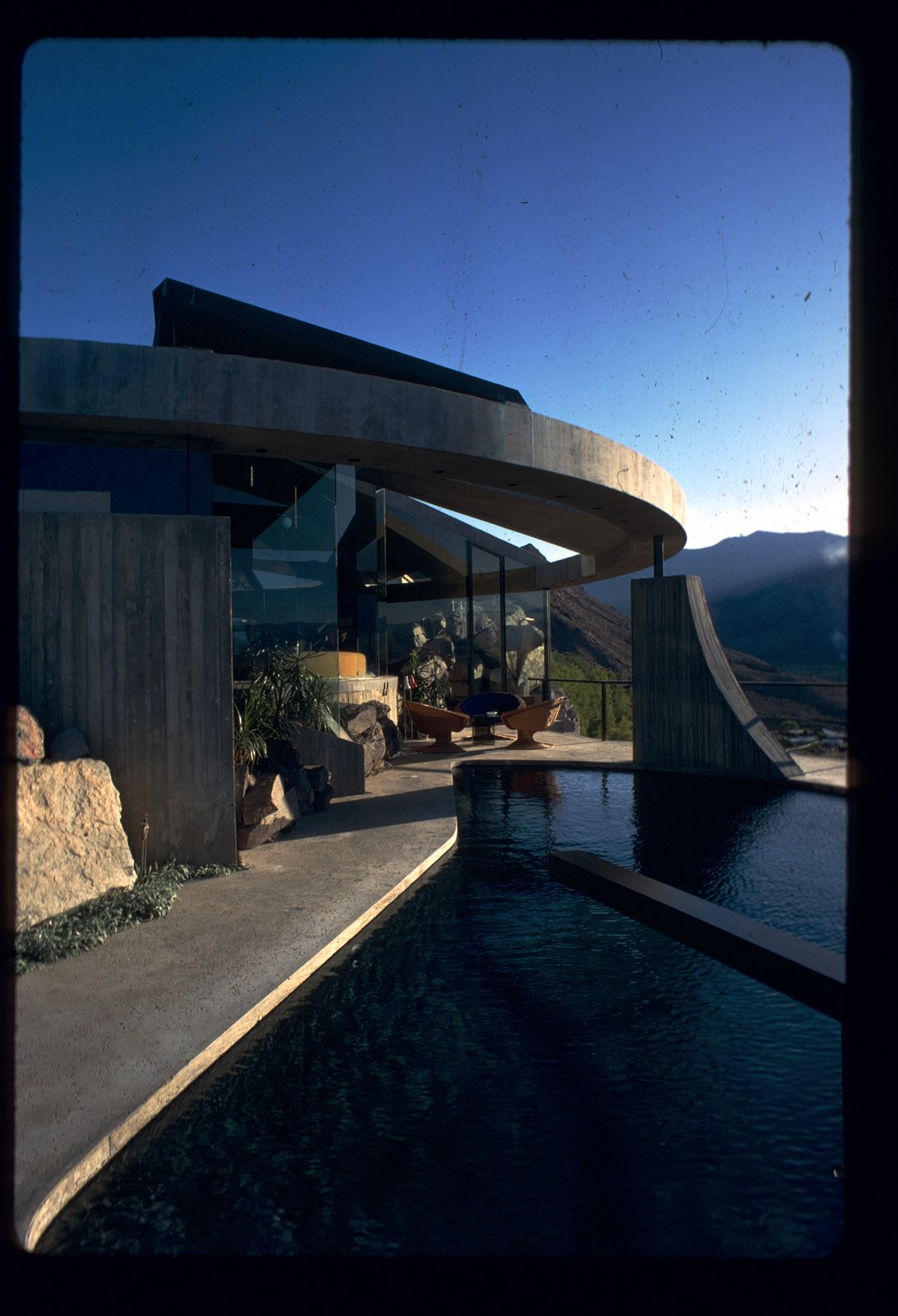 Photo by John Lautner.  Photo 2 of 5 in A House Worthy of James Bond and More