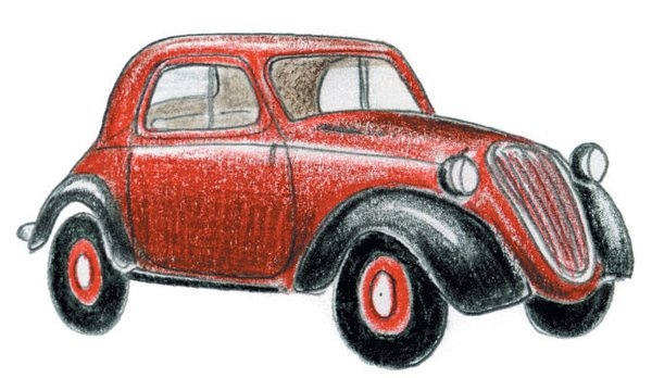 1936<br><br>Fiat 500 Topolino introduced.