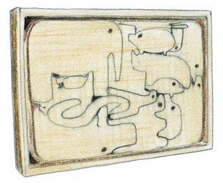 1959<br><br>Enzo Mari designs 16 Animali puzzle.