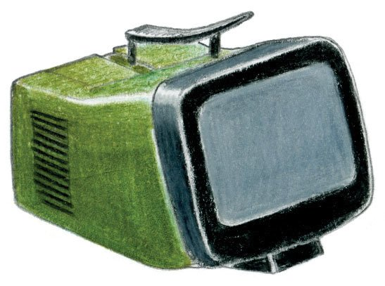 1962<br><br>Sapper-Zanuso design a TV for Brionvega.