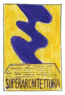 1966<br><br>Superstudio holds <br><br>Superarchitettura show.