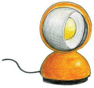 1966<br><br>Vico Magistretti designs Eclisse lamp for Artemide.