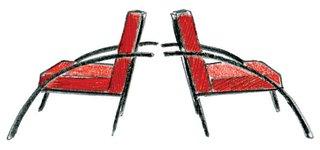1989<br><br>Aldo Rossi designs Parigi chair.