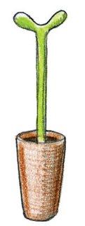 1993<br><br>Stefano Giovannoni designs Merdolino toilet brush for Alessi.