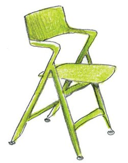 1996<br><br>Antonio Citterio designs Dolly chair for Kartell.