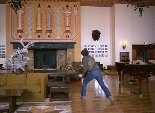 """A clip from """"The Shining"""" featured on If We Don't, Remember Me."""