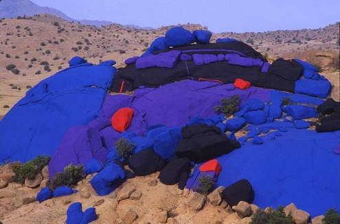 Les Roches Bleues by Belgian artist Jean Vérame.