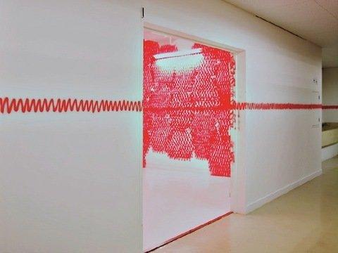 An exhibition at Arts Chiyoda in Tokyo. Photo by Naoki Ishizaka