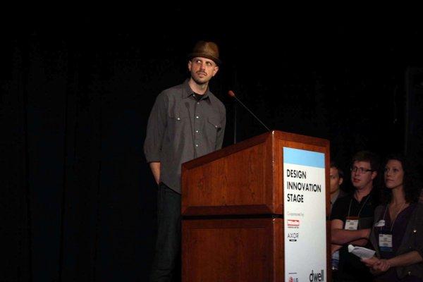 Tom De Blasis presents the Gamechanger Bucket.