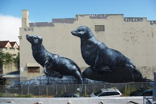 ROA's wall in the Mission.