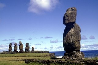 Easter Island's Visitor's Center - Photo 3 of 6 - Easter Island is most famous for the hundreds of large carved monolithic statues, known as moai, that were created to represent ancestors by the Rapa Nui people from approximately the ninth to the seventeenth centuries AD.