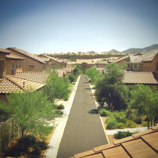 Runner up Inspirada caught our eye for it's bold head-on perspective of a deserted desert suburbia in Henderson, Nevada.