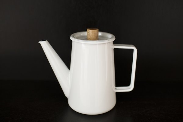 One of the many tea pots sold in the shop, though the inventory is constantly in rotation as Daoust and Baker discover new talent and products on their scouting trips to Scandinavia and Japan.