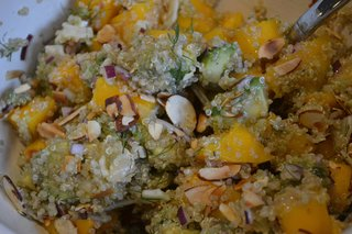 Avocado, Mango & Fennel Salad - Photo 2 of 2 - Mmm... the final results, ready for enjoying. Photo courtesy amyskitchentable.com.