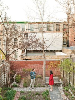 Green Thumb<br><br>Sherman's back garden is a model of adaptive reuse: The path is made from rubble bricks and concrete dug up from the backyard and crushed, and the bench is made from reclaimed cast-iron panels and mahogany scraps left over from replacing the interior stair treads.