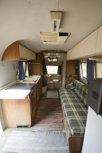 This is what the Airstream looked like upon purchase. Unfortunately upon  closer inspection it turned