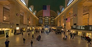 "Jeff Sherman's Favorite Buildings - Photo 1 of 3 - Here's the bustling work ""New York Grand Central Station."""