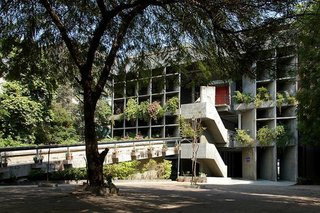 Jeff Sherman's Favorite Buildings - Photo 3 of 3 - The Mill Owners' Association Building by Le Corbusier.